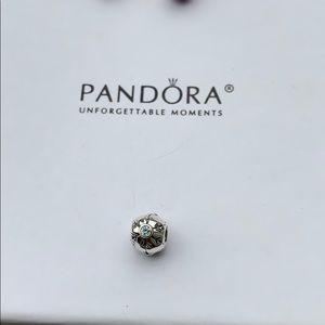 Authentic Pandora Snow Flake Charm